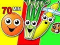 Fruit And Veggies Songs Collection Learn Fruit Vegetable Nam