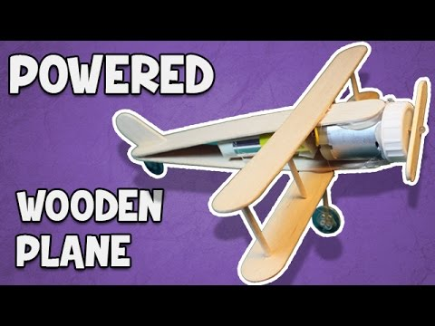 How to Make a Battery Powered Plane