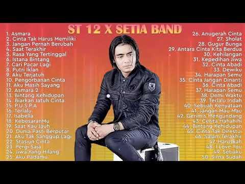 Download ST 12 X SETIA BAND [ FULL ALBUM ] Lagu Pop Indonesia Terbaik 2000an - 2021 || Lagu Indo Terbaru Hits MP3 Gratis