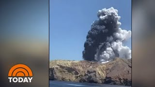 Volcano Erupts On New Zealand's White Island; At Least 5 Killed | TODAY