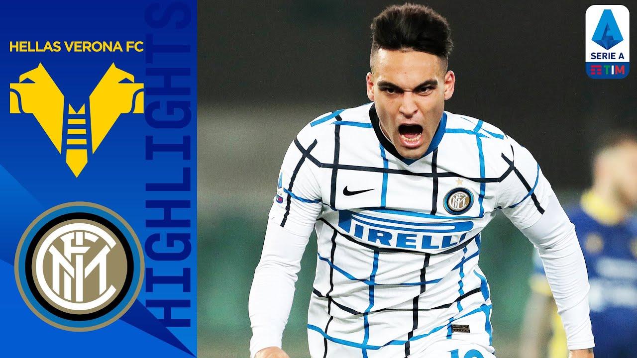 Hellas Verona 1-2 Inter | Martinez & Skriniar Score to Seal Narrow Victory | Serie A TIM