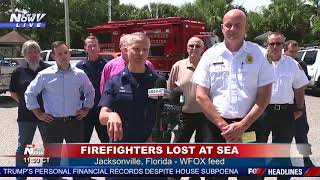 LOST AT SEA: Search continues for 2 firefighters who went on fishing trip