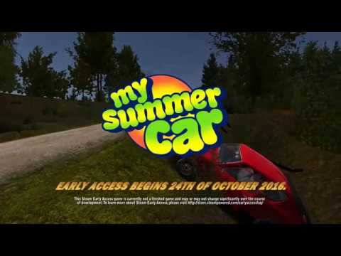 My Summer Car Early Access Gameplay Trailer