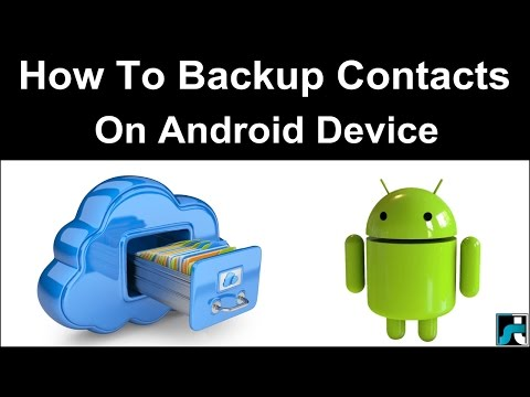 How To Backup Contacts On Android (3 Ways)
