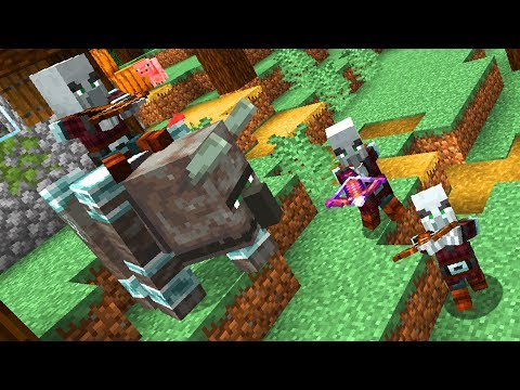 All About Raids in Minecraft