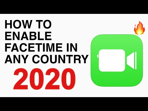 (iOS11) How to Active FaceTime in any Country (Middle East Country) without Jailbreak : 2018 🔥🔥🔥