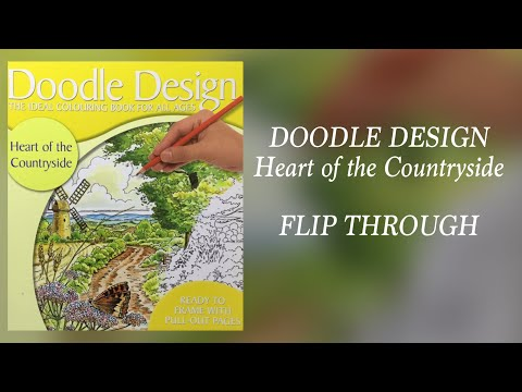 DOODLE DESIGN - Heart of the countryside - flip through