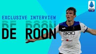 """It would be an honour to be Atalanta's Captain!"" | Marten de Roon | Exclusive Interview | Serie A"