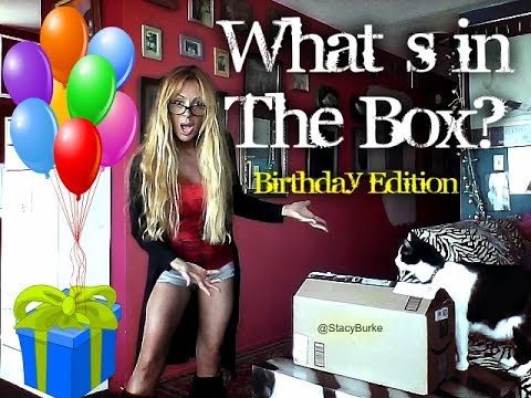 What`s in the Box? #Birthday Thank you Ted!