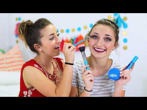 Brooklyn's Homecoming Makeup Look   Brooklyn and Bailey