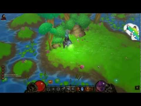 Diablo 3: Wizard clear Pony level (Whimsyshire) in 10 min (Inferno) v1.0.3