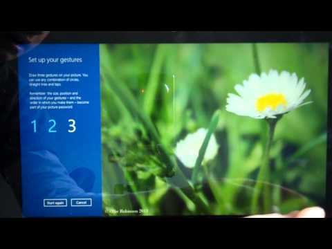 How To Change A Picture Password In Windows 8.1