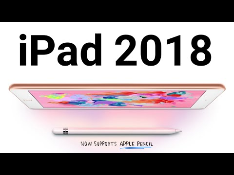 New ipad 2018  launched