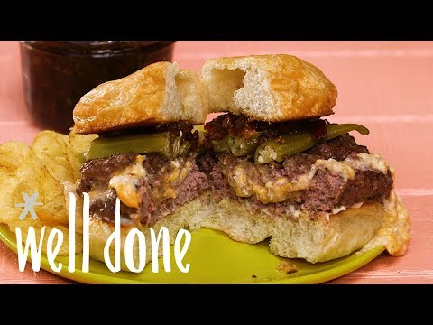 How To Make Pimento Cheese Juicy Lucy | Recipe | Well Done
