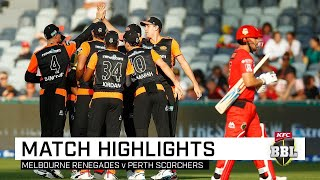 Scorchers sizzle as Renegades stay winless   KFC BBL 09