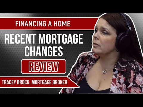 Financing A Home | Review Of Recent Mortgage Changes