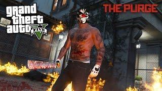 THE PURGE!! (GTA 5 Mods)