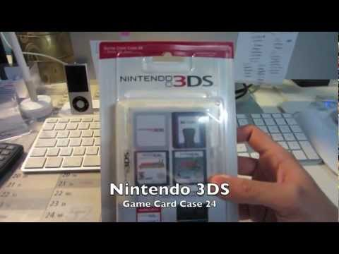 Nintendo 3DS Game Card Case Unboxing +Review