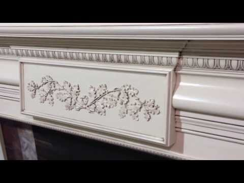 St. Francisville Mantel - Chateau Fireplace Mantel Collection