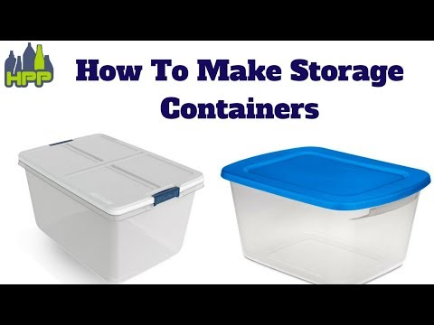 how to make storage containers
