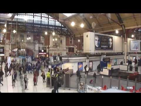 Victoria Rail Station & Tube Ticket Hall, London - 2013