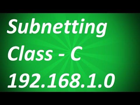 IP Addressing | Class C Subnetting in Hindi