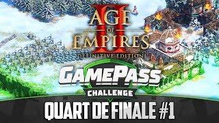 Gamepass Challenge #13 : 1er Quart / Age of Empires II Definitive Edition