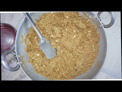Healthy panjeeri recipe in few minutes /very easy recipe