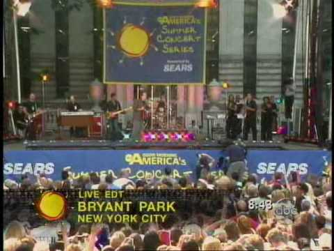 Clay Aiken - I Will Carry You - Good Morning America Summer Concert Series - July 2, 2004
