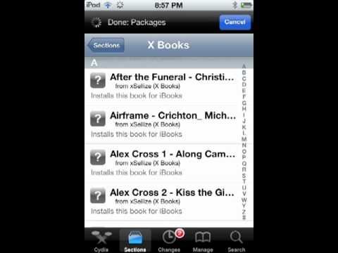 How to get free books for your iPod Touch