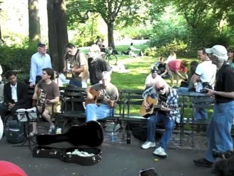 Raw Beatles - I'm Looking Through You Cover - Central Park