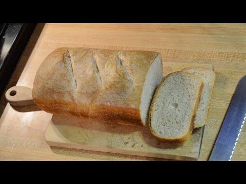 Bread Making - From Sponge Starter to Sliced Bread