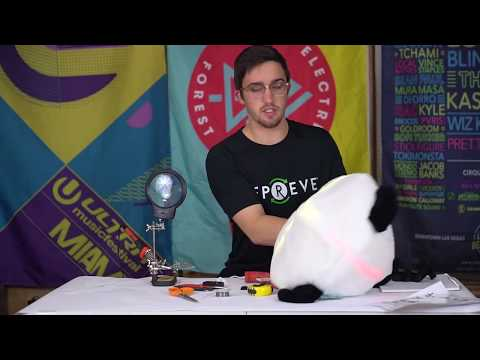 How to Use LEDs to Make a Light Up Mascot Head