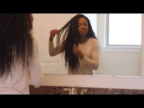 Curly Weave Morning and Night Daily Routine: Define Your Curls