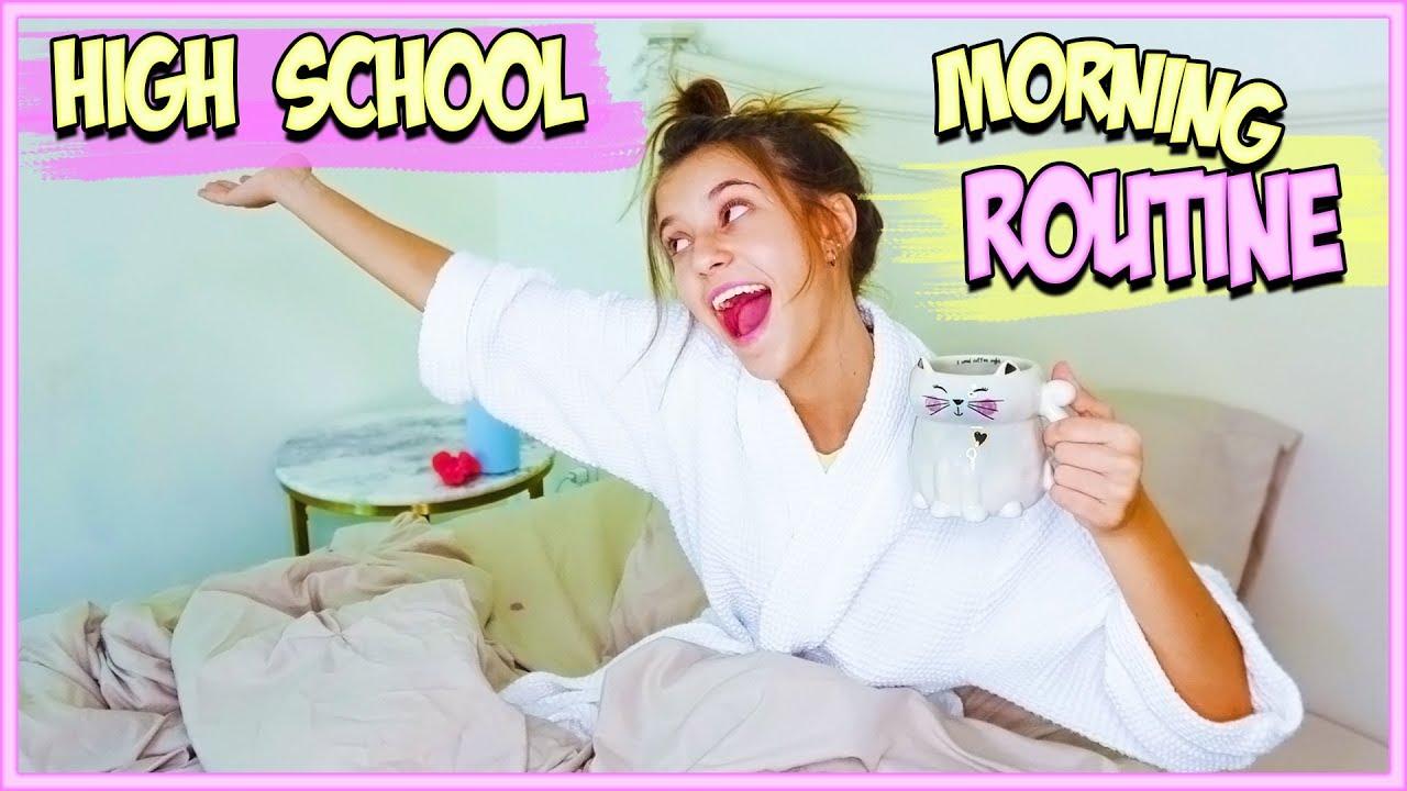 JAYLA'S HIGH SCHOOL MORNING ROUTINE!!
