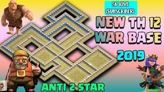 TH 12 NEW WAR BASE (LayOut) 2019 | TH 12 Best War Base 2019