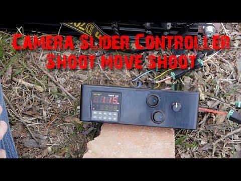 Camera Slider Shoot Move Shoot Controller