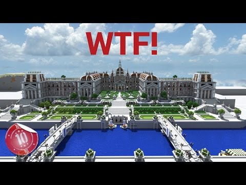 Top 10 LARGEST Minecraft Houses Ever Built
