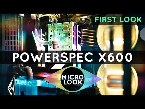 PowerSpec Extreme X600 Liquid-Cooled Gaming Desktop
