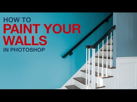 How to Paint Your Walls in Photoshop