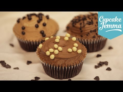 How to make Perfect Chocolate Buttercream | Cupcake Jemma