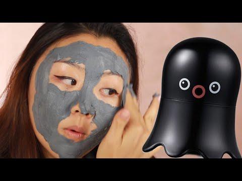 We Tried Korean Bubble Pore Masks