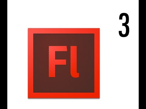3. Intro to Flash (CS6) - .fla & .swf Extensions (Publish)