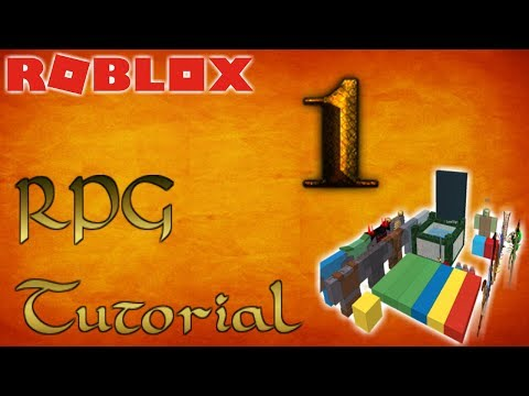 ROBLOX How-To Make an RPG Game!  - Part 1 - Basics