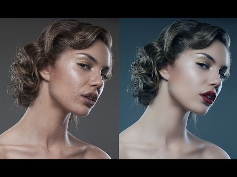 Photoshop tutorial: Skin retouching - Special technique