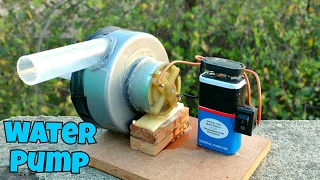 How to Make a Water Pump [Simple]