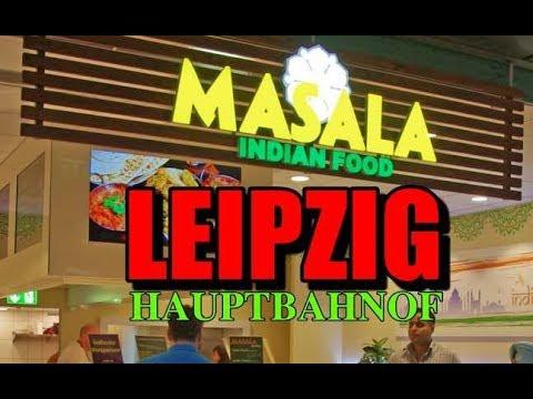 Indian Food at Leipzig Hauptbahnhof