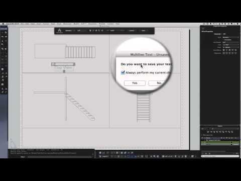 how to set up a layout page to print AutoCAD for MAC 2014