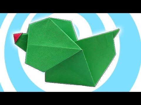 Origami Paper Barking Dog (✔ Kids Instructions)