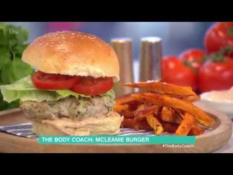Joe Wicks' McLeanie Turkey Burger | This Morning